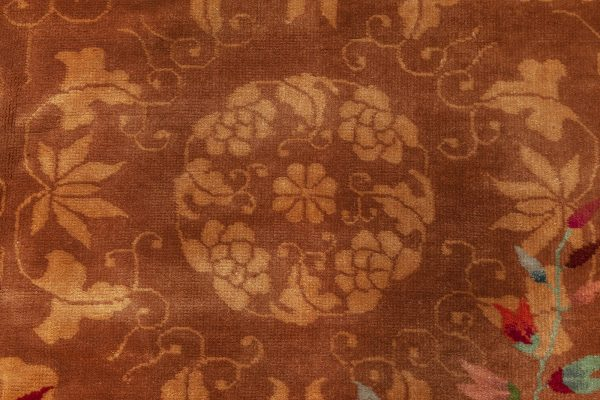 Vintage Chinese Deco Rug BB3350