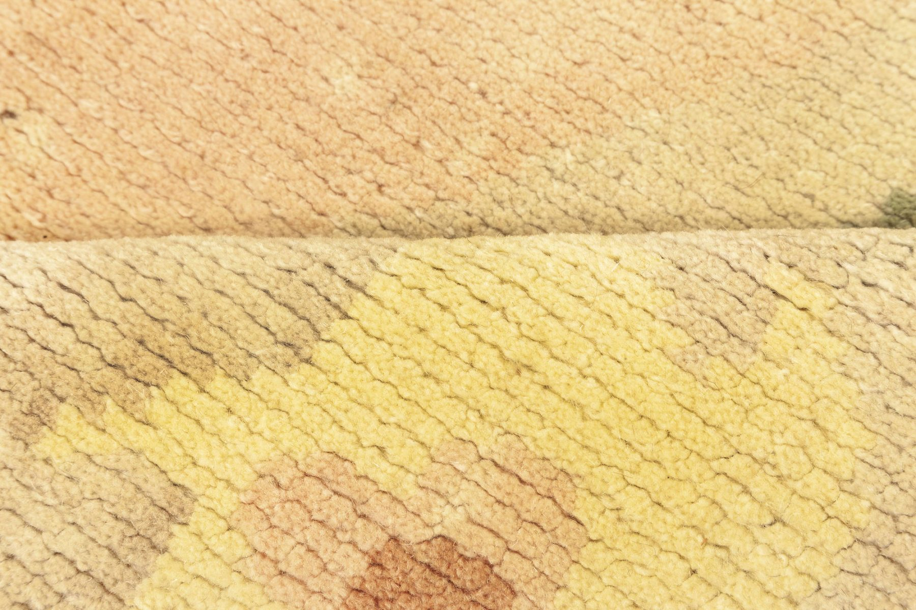 Green Large Vintage Savonnerie Carpet BB3403
