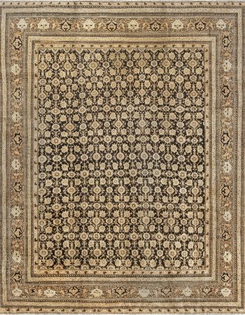 Vintage Indian Agra Rug BB0487