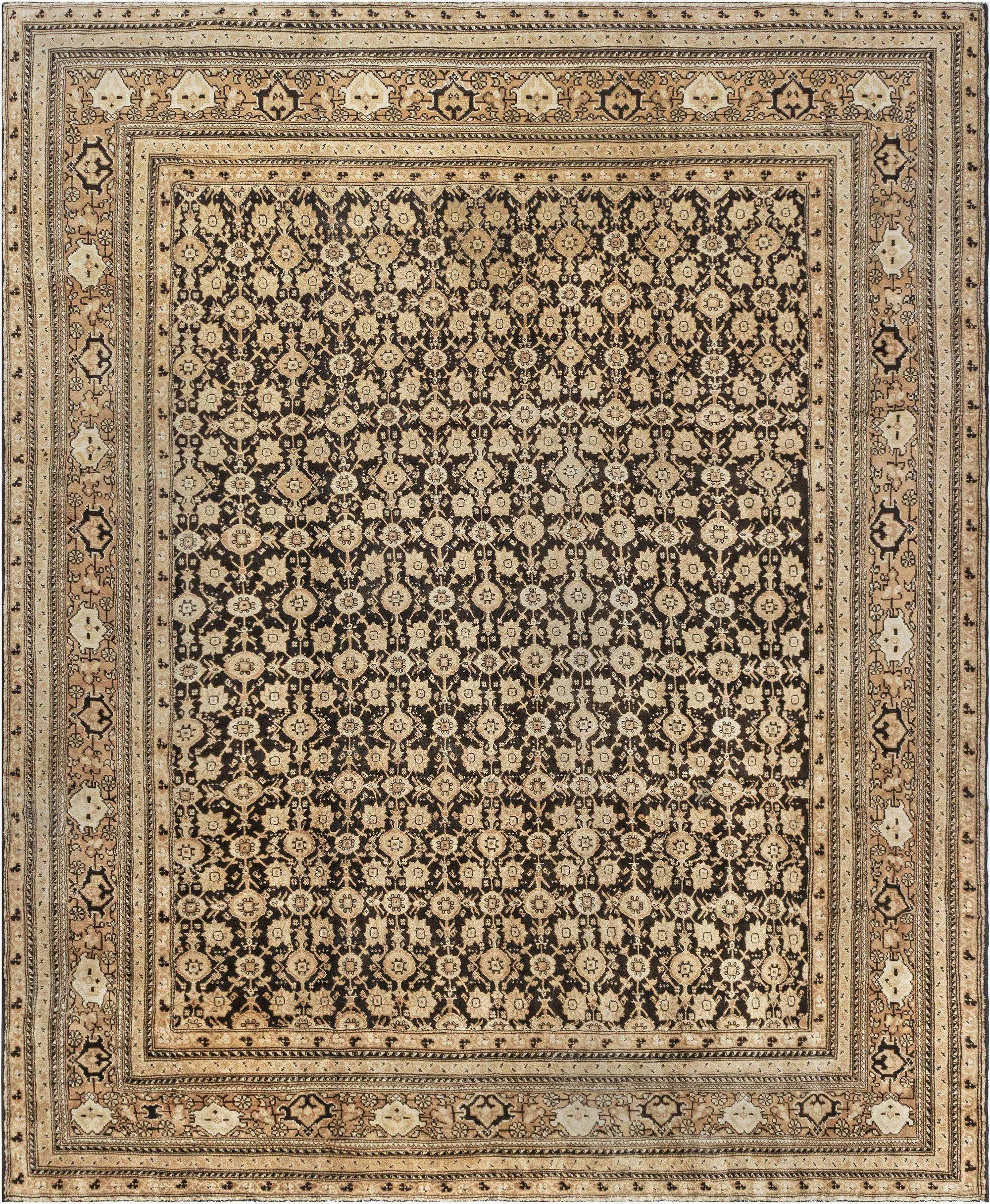 Vintage Indian Agra Rug BB0487