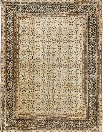 Antique Persian Malayer Rug BB5117