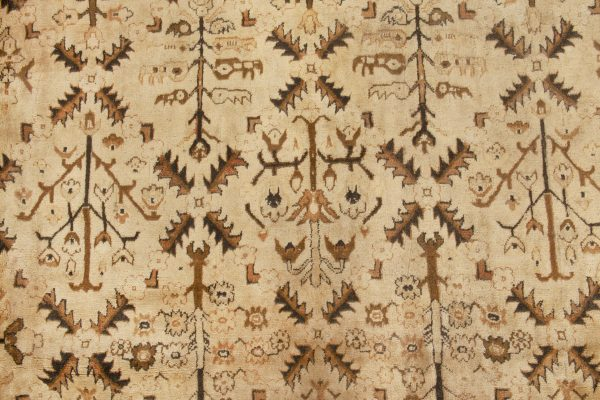 Antique Indian Agra Carpet BB2727