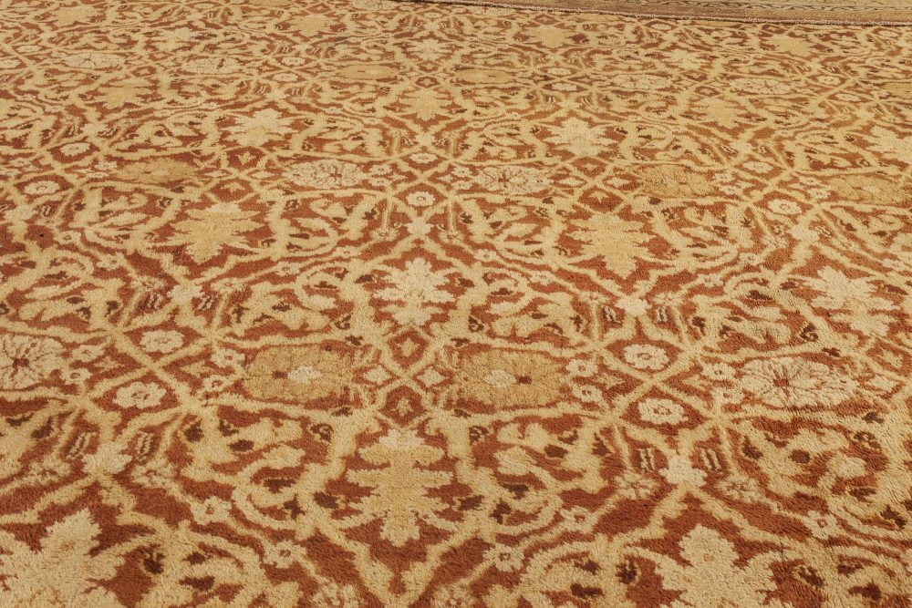 Antique Indian Amritsar Rug Late 19th Century BB4578