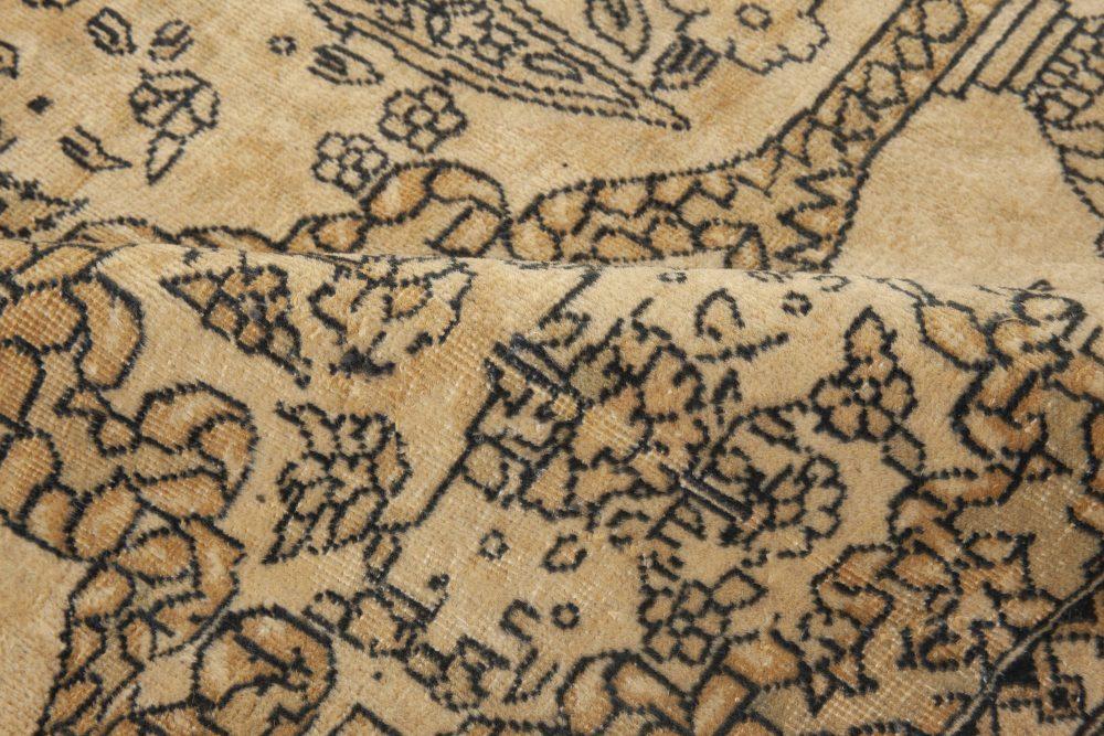Oversized Vintage Indian Carpet (Size Adjusted) BB3324