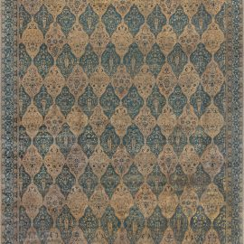 Oversized Vintage North Indian Carpet BB2023