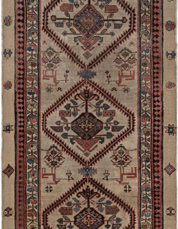 Colorful Vintage Moroccan Cotton Runner BB5898