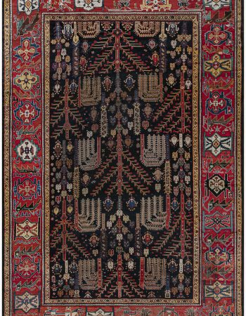 Antique Turkish Ghiordes Carpet BB7384