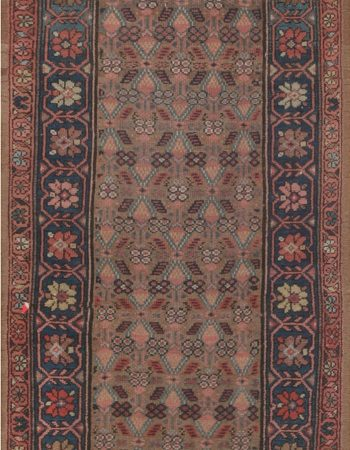 Antique Hamadan runner BB4055