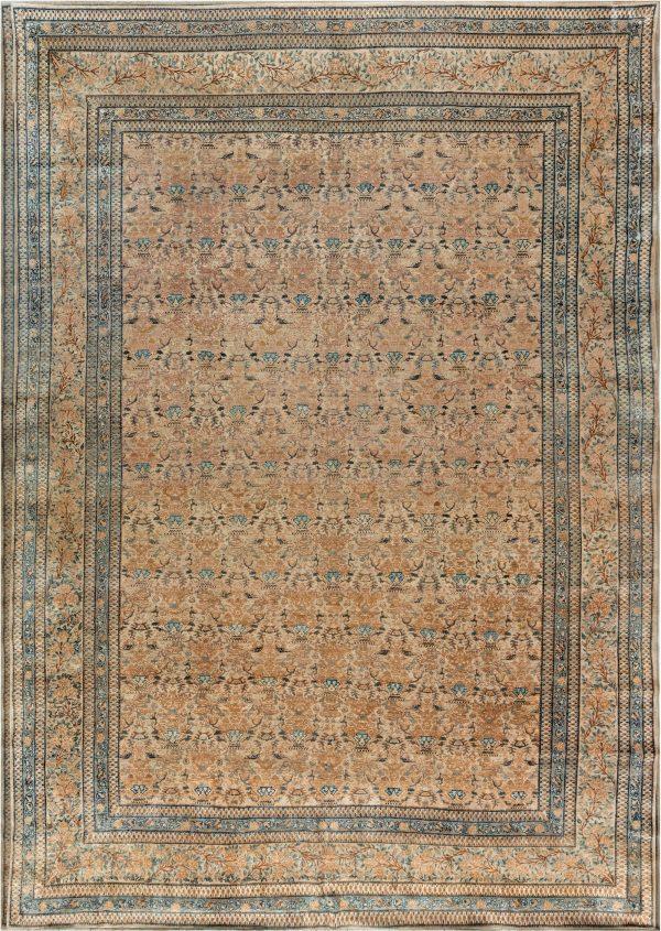 Alfombra persa antigua Kirman BB3970