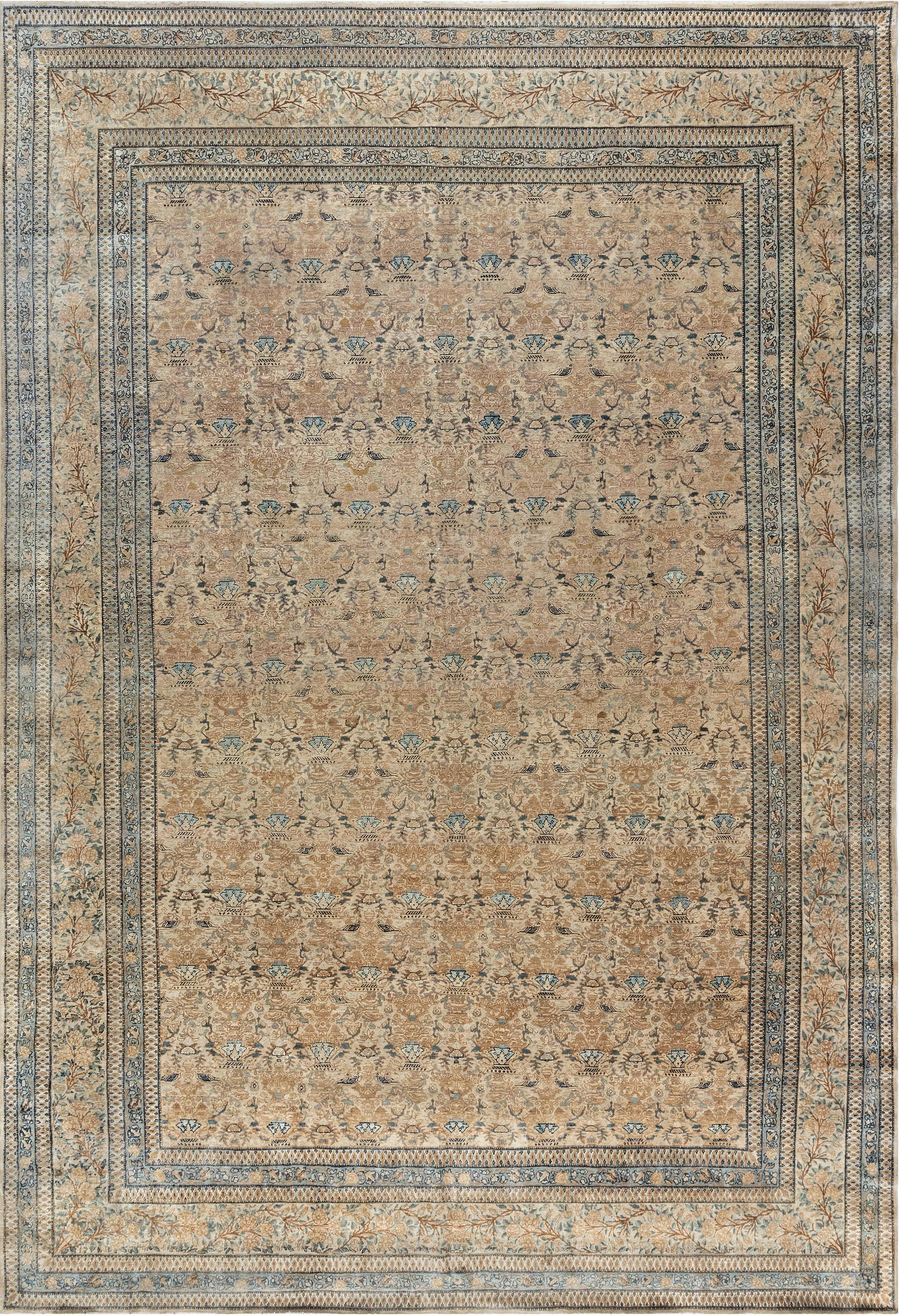 Antique Persian Kirman Carpet BB3970