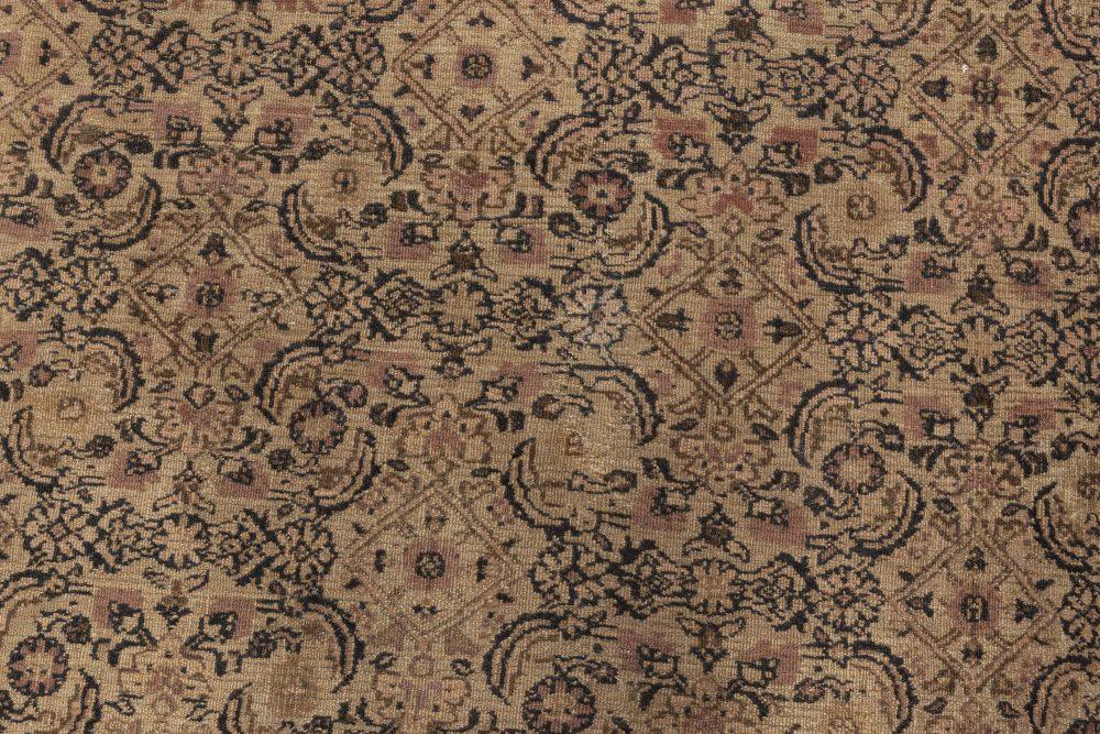 Antique Persian Meshad Rug BB4543