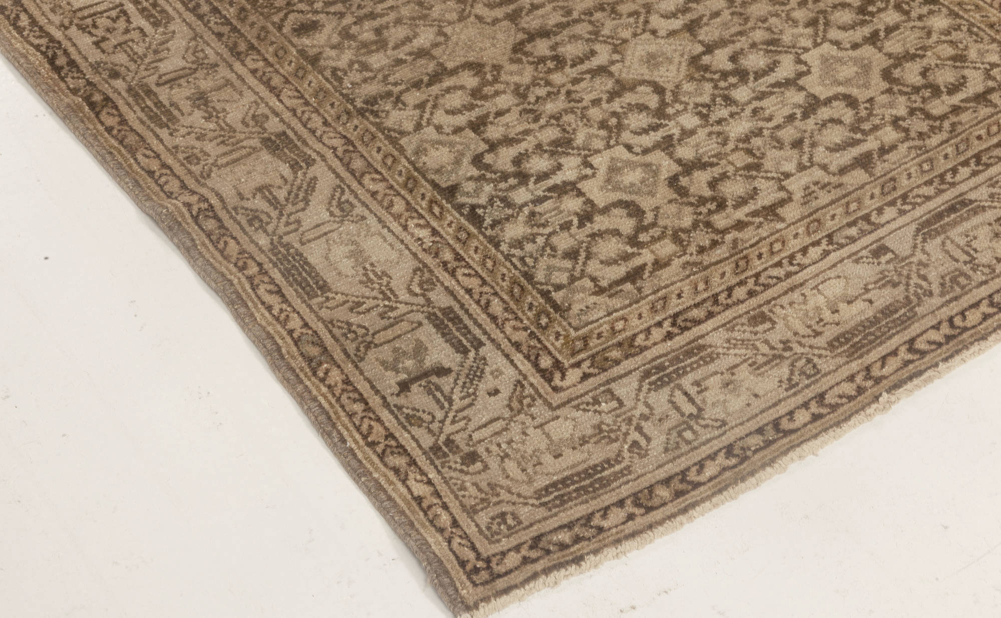 Antique Pair Of Malayer Runners Bb4591 By Doris Leslie Blau