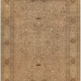 Antique Persian Tabriz Carpet BB0899