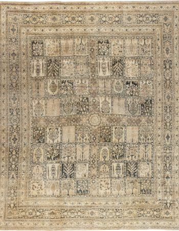 Antique Persian Tabriz Carpet (size adjusted) BB2716