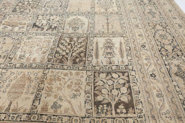 Antique persa Tabriz Tapete (tamanho ajustado) BB2716