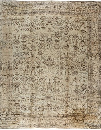 Oversized Antique Turkish Oushak Rug BB3157