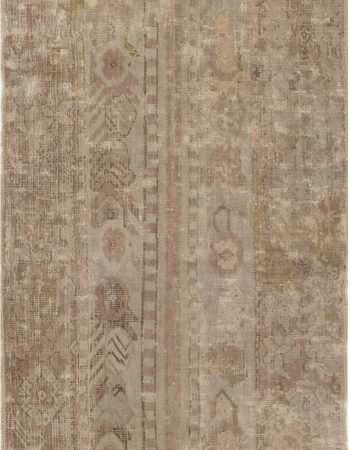 Antique Turkish Ghiordes Runner (size adjusted) BB5450