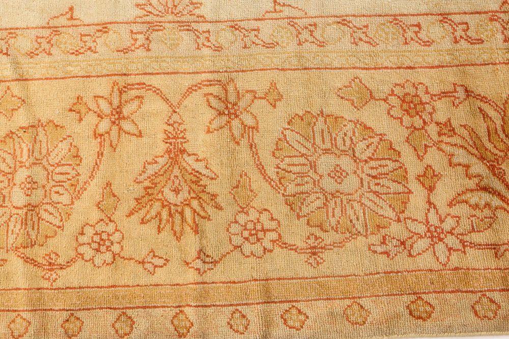 Antique Turkish Oushak Rug BB2704