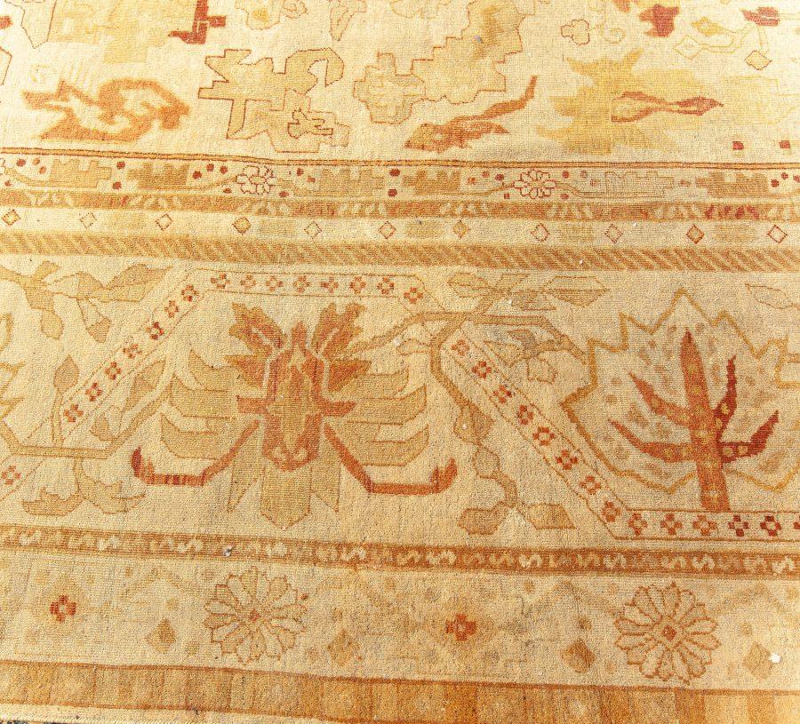 Oversized Antique Indian Amritsar Rug BB4423