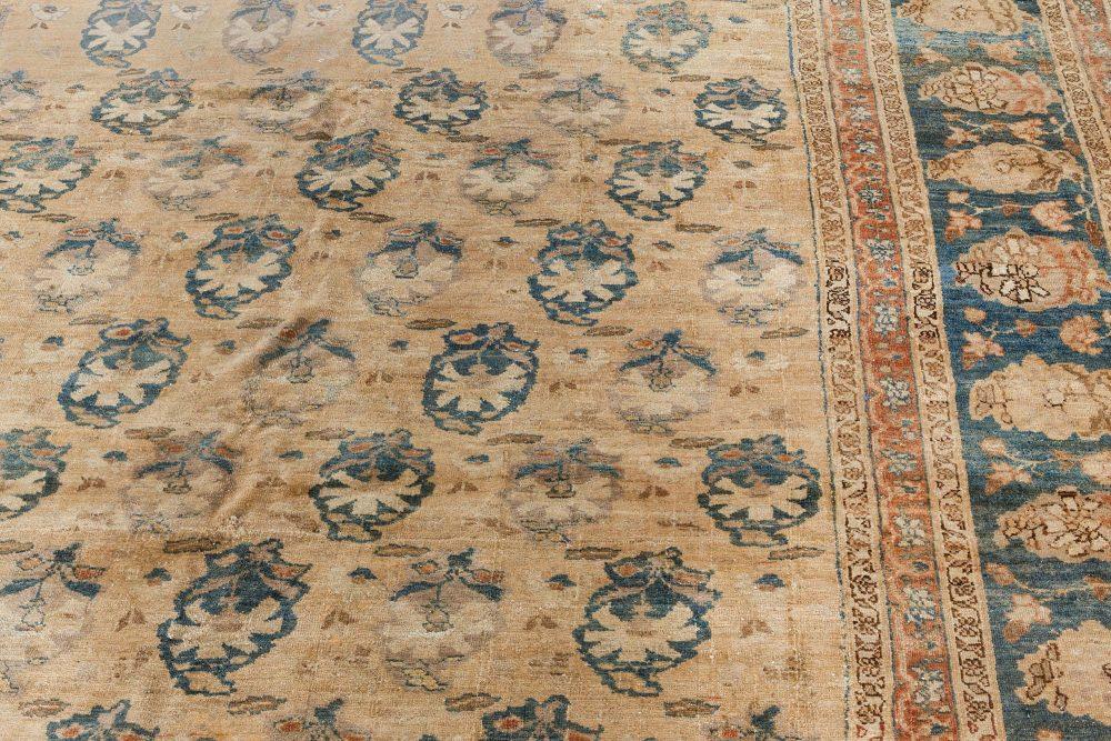 Persian Tabriz Antique Rug BB5937