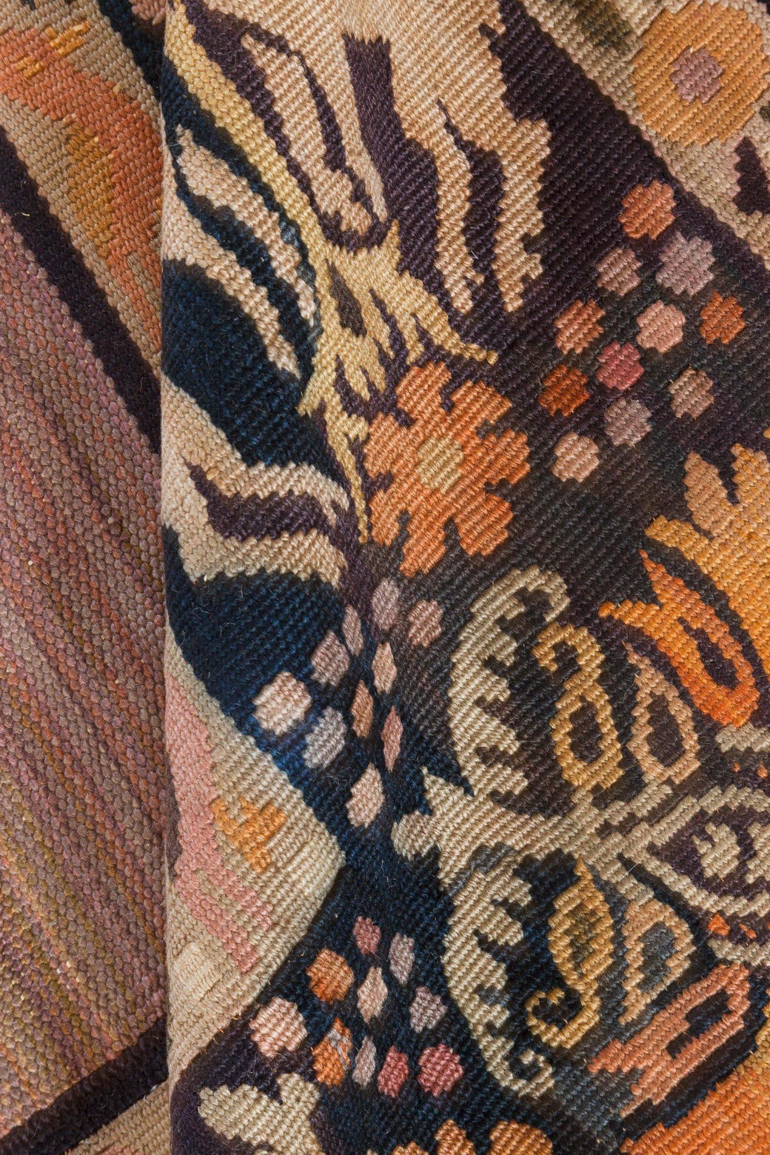 Vintage Aubusson Carpet BB7083