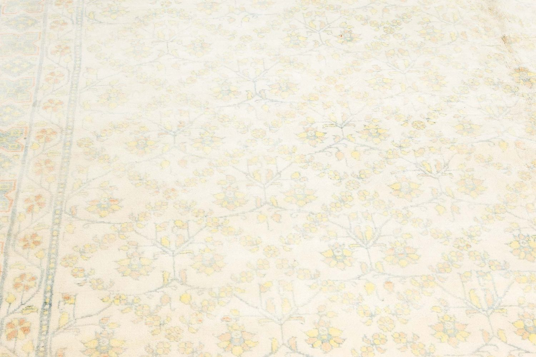 Vintage Indian Cotton Agra Rug BB7117