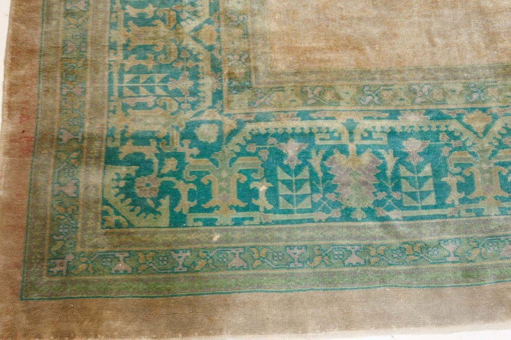 Large Antique Turkish Borlou Rug BB7122