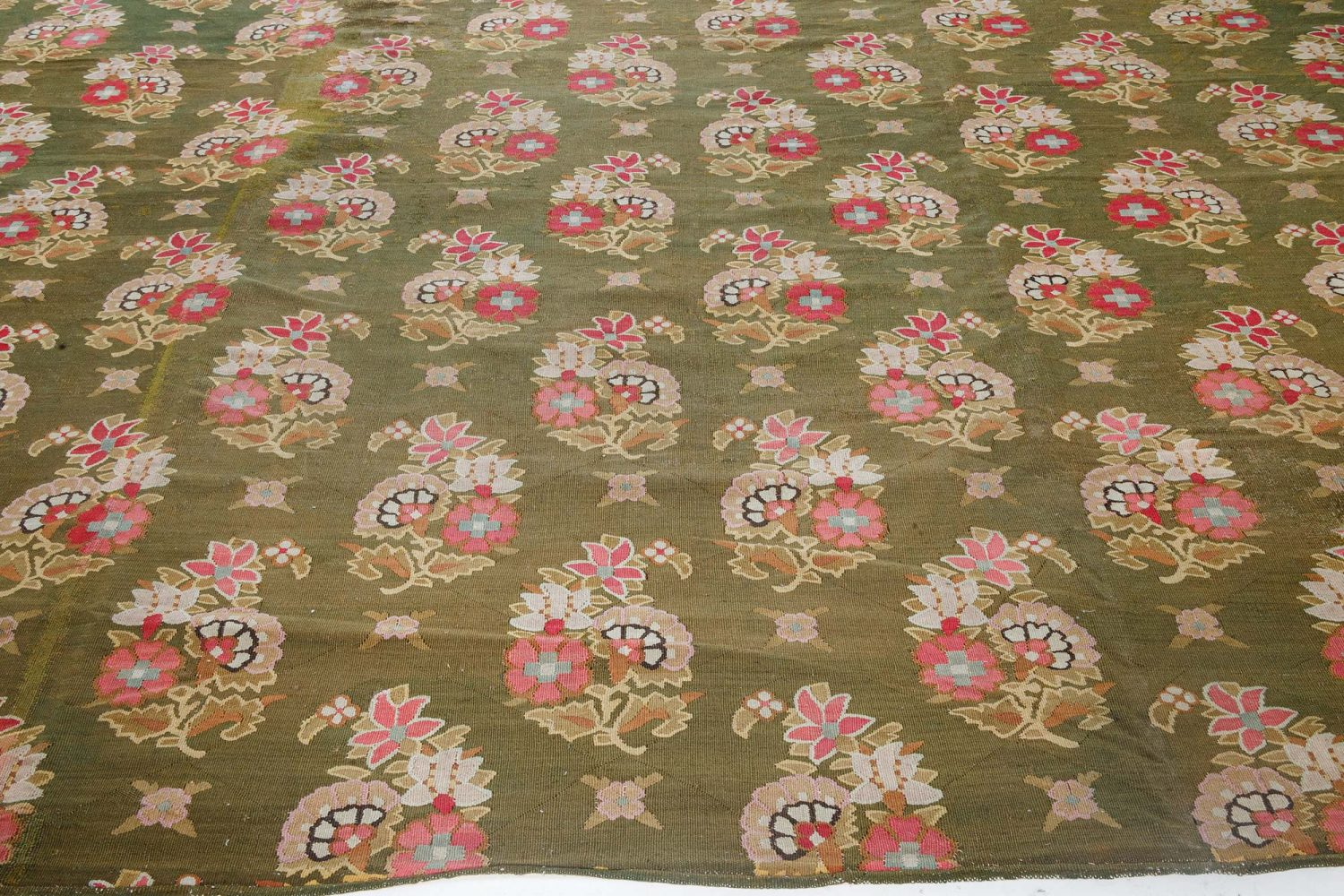 Antique French Aubusson Rug BB7125