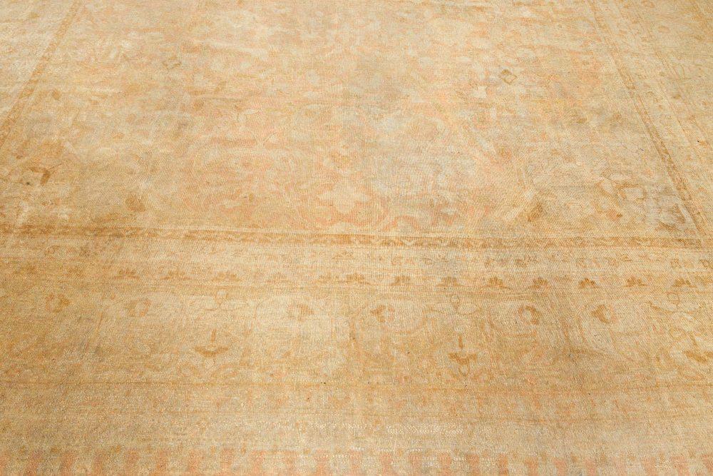 Antique Indian Amritsar Handwoven Wool Rug BB7132
