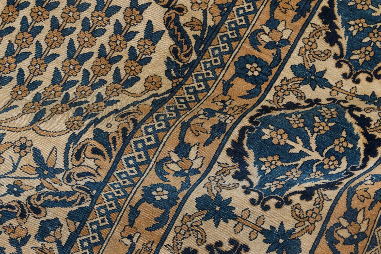 Antique Persian Kirman Handwoven Wool Rug BB7137