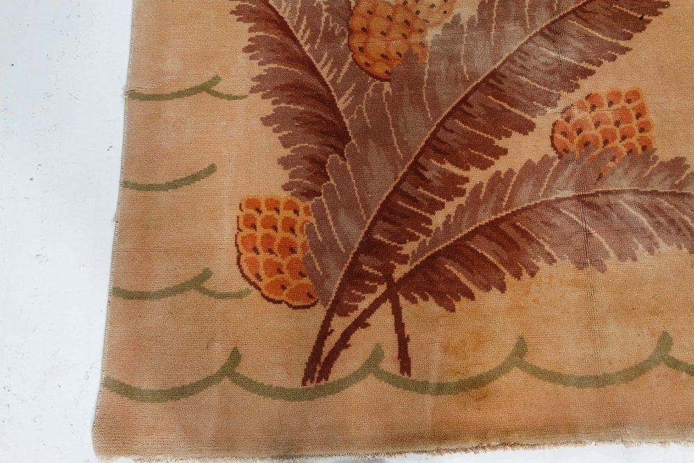 Handmade Vintage French Deco Rug BB7146