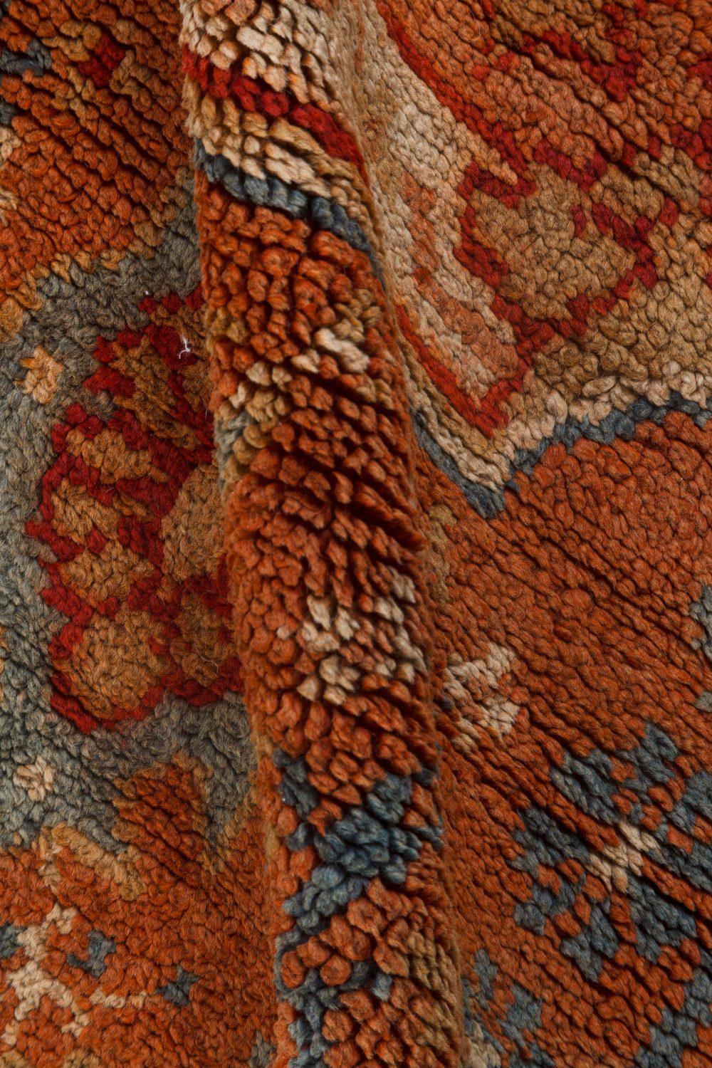 Large Vintage Turkish Oushak Carpet BB7169