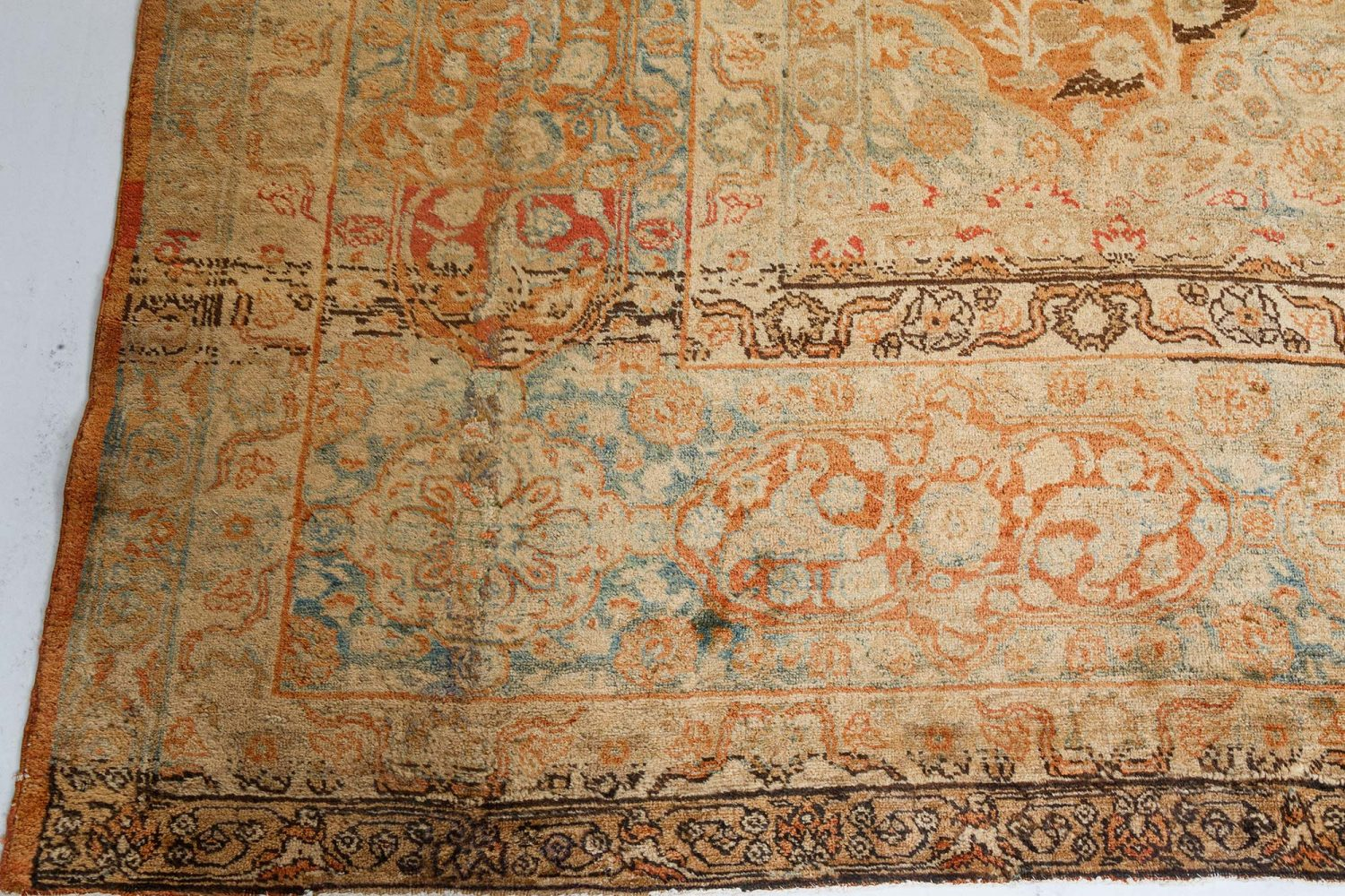 Antique Persian Tabriz Carpet BB7172