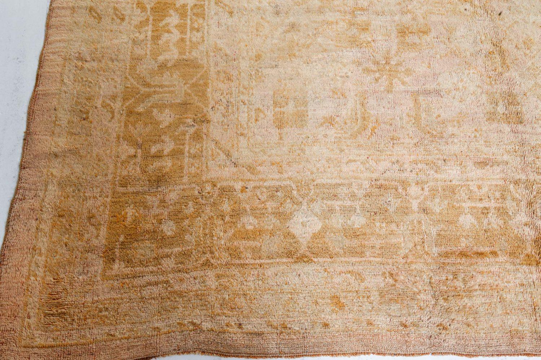Antique Turkish Oushak Rug BB7175
