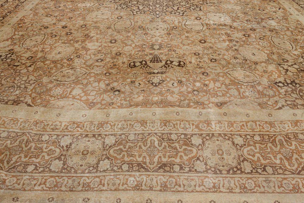 Oversized Antique Persian Tabriz Carpet BB7182