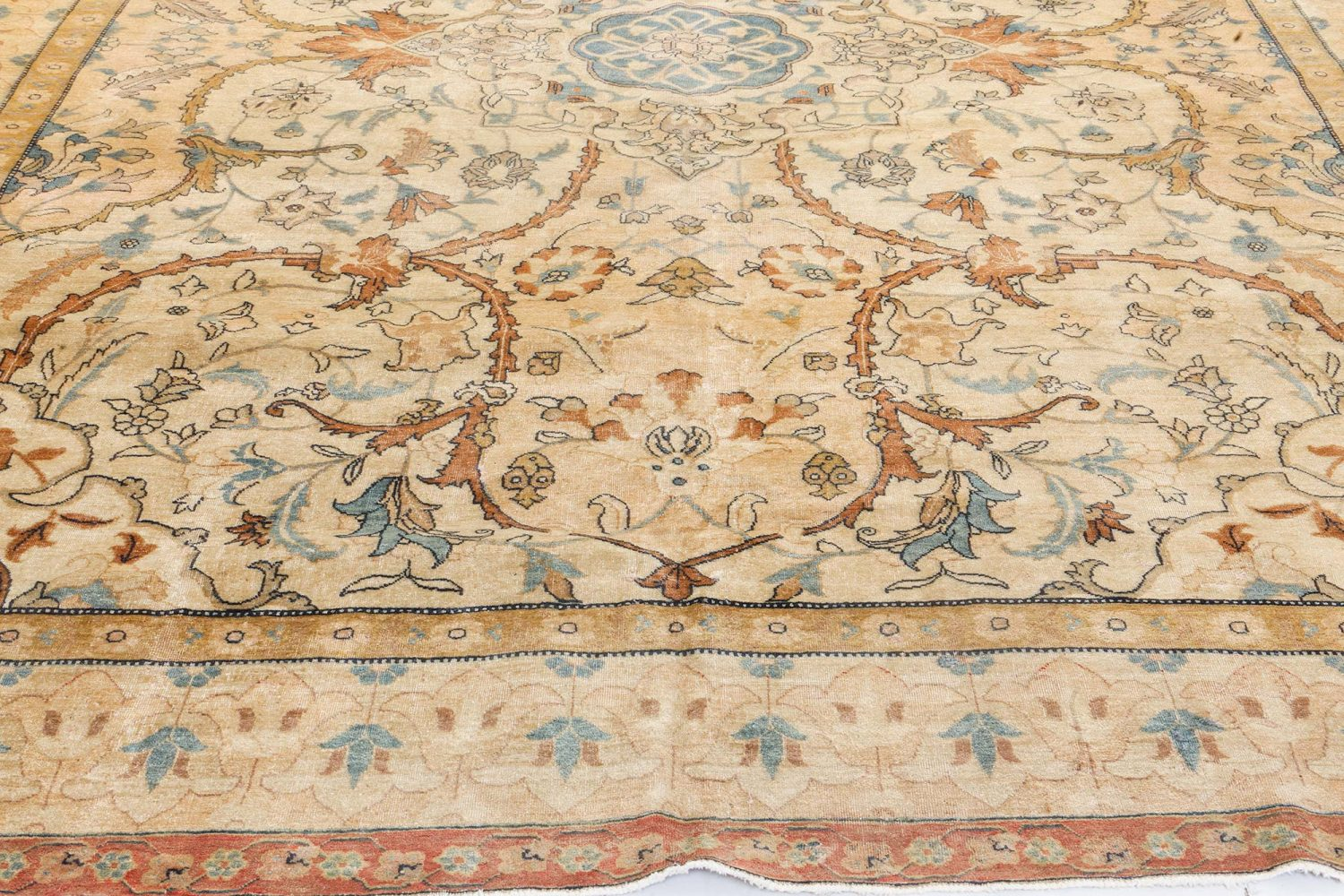 Antique Persian Tabriz Rug BB7205