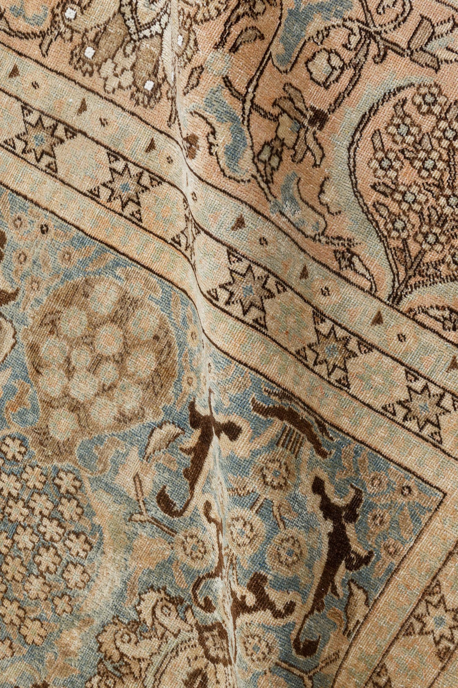 Antique Persian Tabriz Carpet BB7209