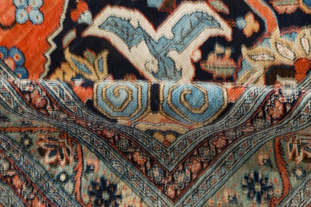 Authentic Large Persian Tabriz Rug BB7223
