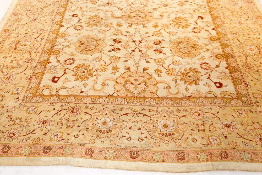 Antique Indian Amritsar Rug (Size Adjusted) BB7237