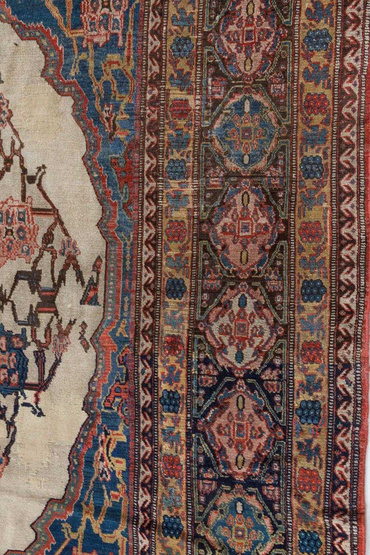 Antique Persian Senneh Carpet BB7265