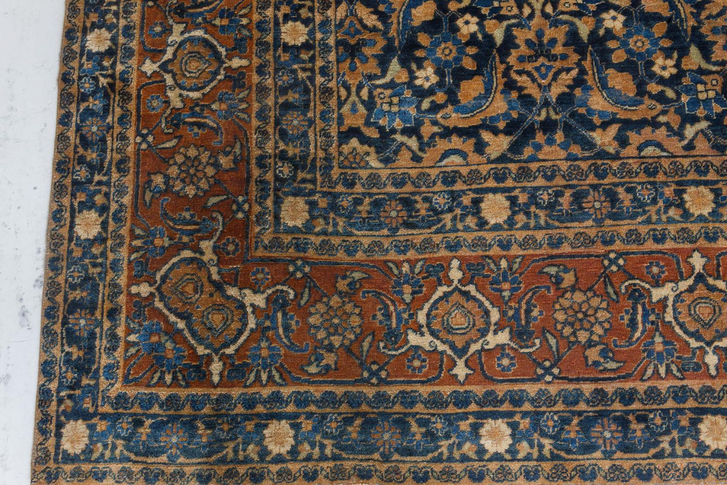 Antique Persian Tabriz Rug BB7266
