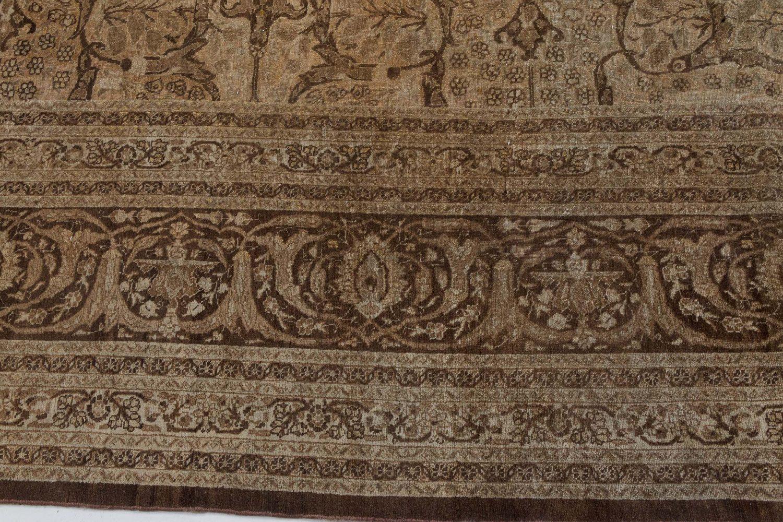 Antique Persian Tabriz Carpet BB7273