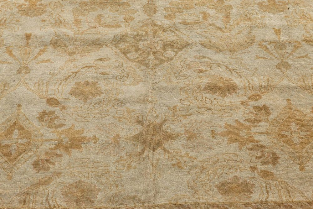 Antique Indian Amritsar Carpet (Size Adjusted) BB7279