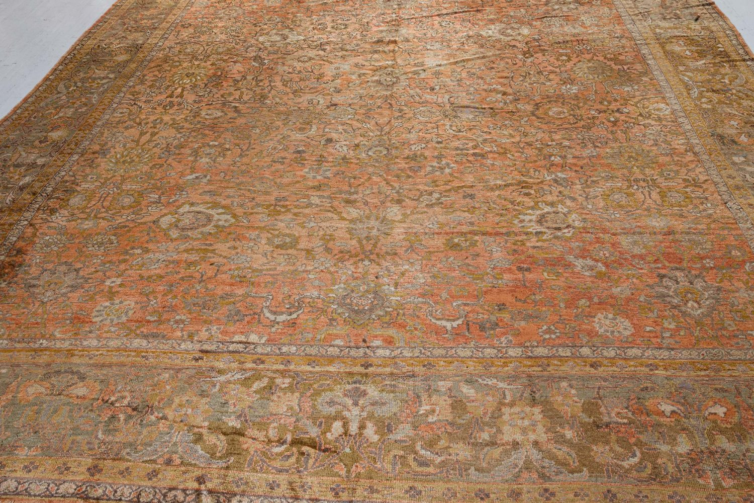 Antique Persian Sultanabad Rug (Size Adjusted) BB7292