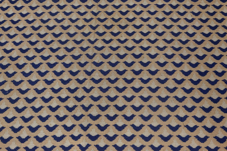 Antique Portuguese Needlepoint Carpet BB7296