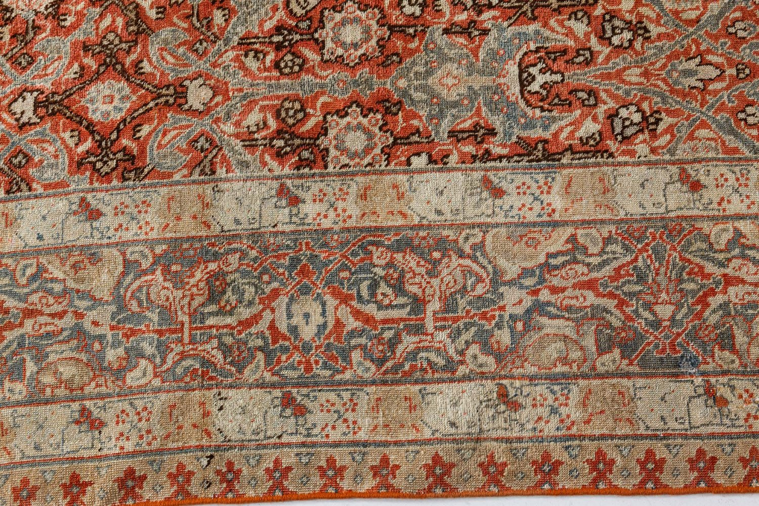 Antique Persian Tabriz Rug BB7299