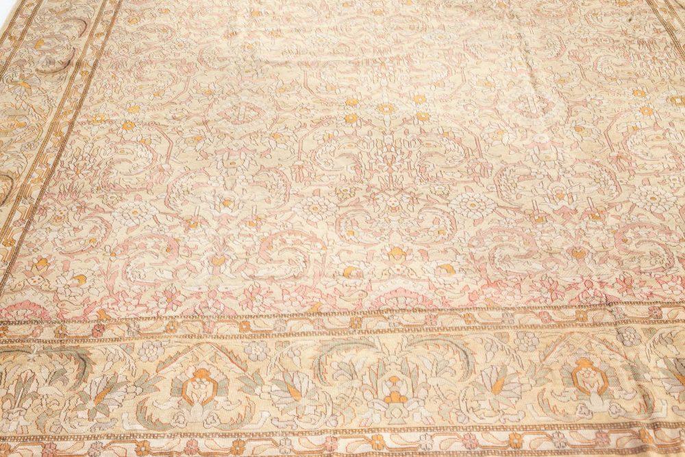 Antique Indian Amritsar Handwoven Wool Rug BB7305