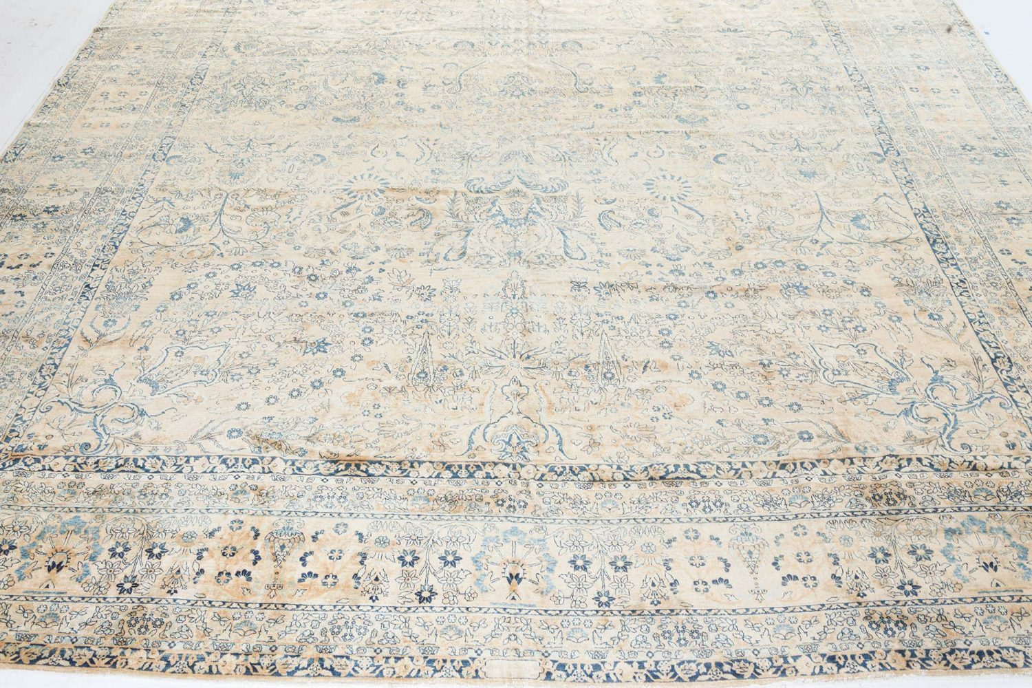 Antique Persian Kirman Rug BB7317