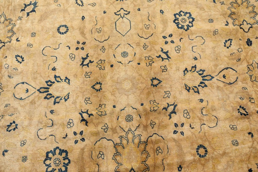 Large Antique Persian Tabriz Rug BB7325
