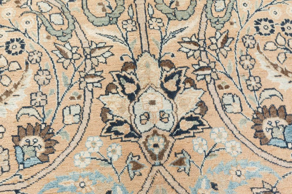 Antique Persian Meshad Rug BB7369
